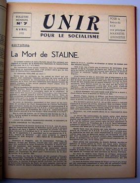 UNIR N°7 avr 53 Couv web