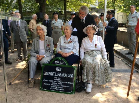 Inauguration le 2 juillet à la mémoire de Eugénie-Malika Djendi , « Merlinette »