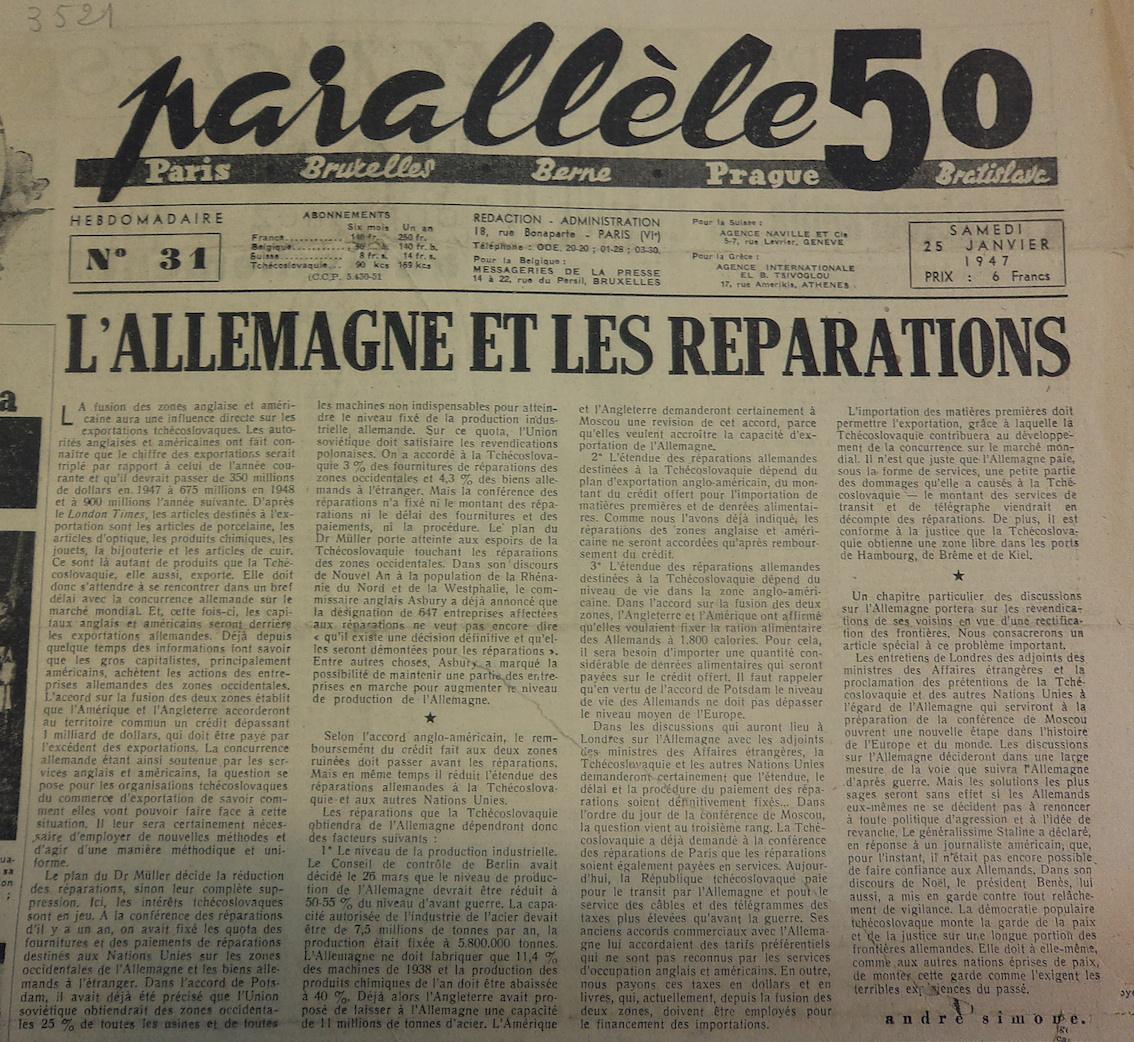 P50 N°31 25 janvier 1947
