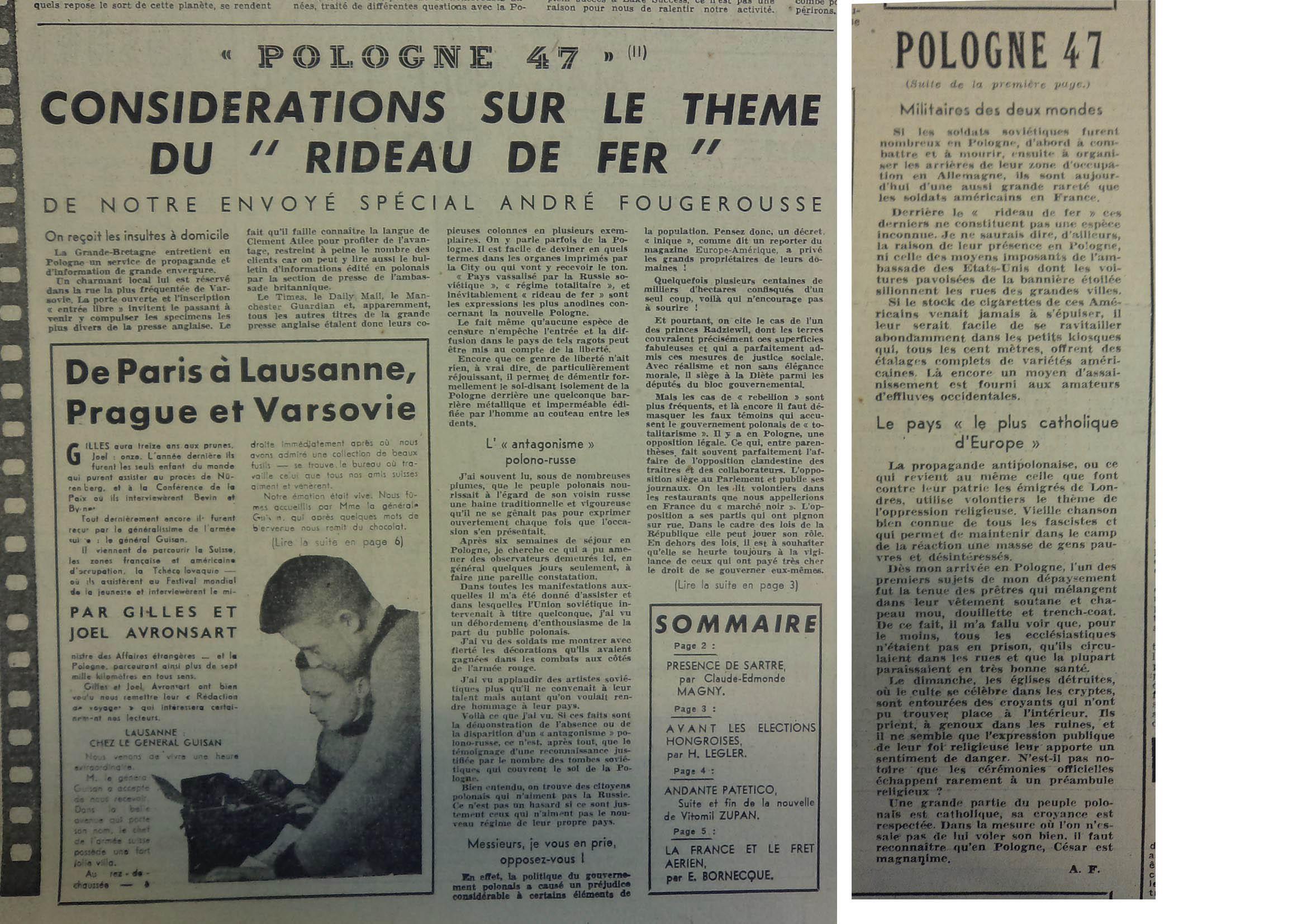 P50 N°57 30 août 1947 fusion