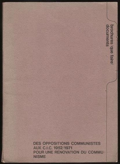 couv brochure des CIC
